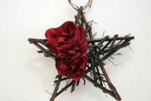 rote-blüte-geschenkband-stern