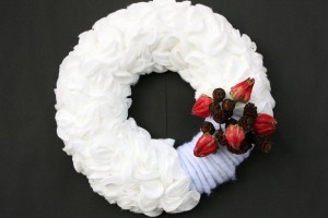Wattepadkranz-hibiskusblüten-erlenzapfen