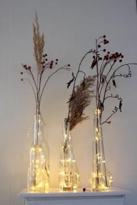 Weihnachtsdeko-lichterketten-flaschen