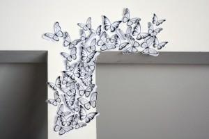 paperschmetterlinge-wanddekoration