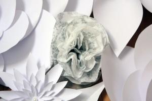 papierrose-servietten